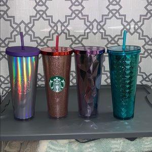🌸Set of Starbucks Cups🌸